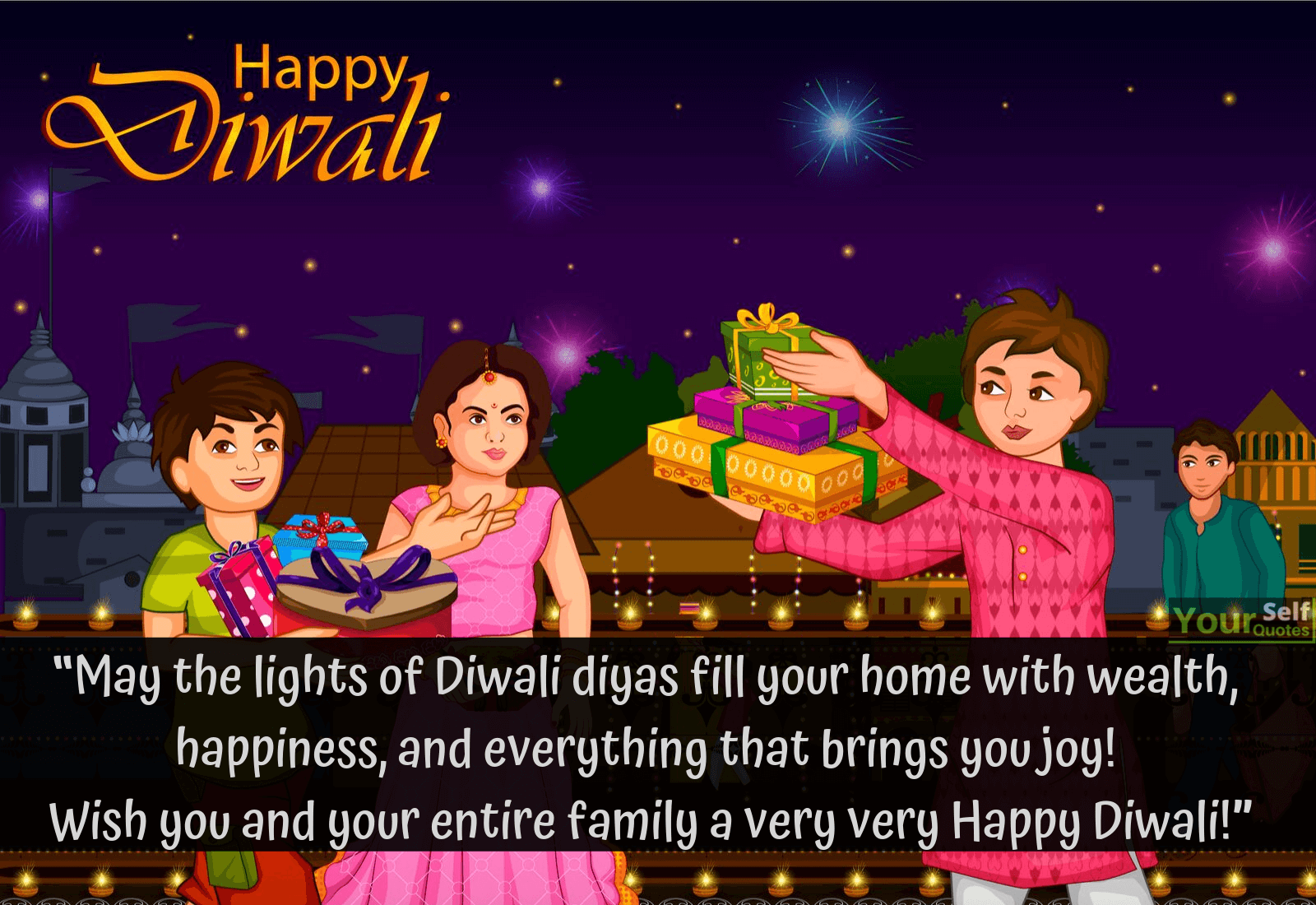 Diwali Wishes For Family