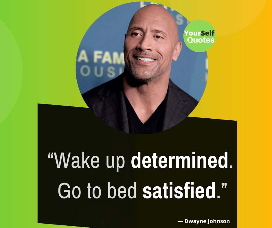 Dwayne Johnson Best Quotes Images