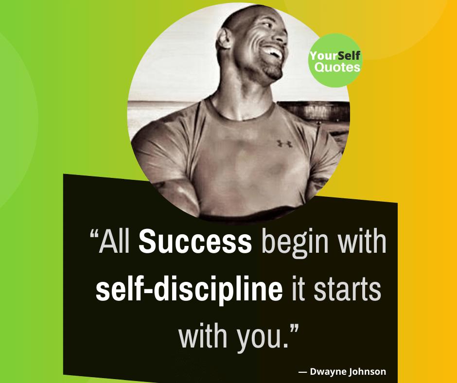 Kutipan Dwayne Johnson tentang Kesuksesan