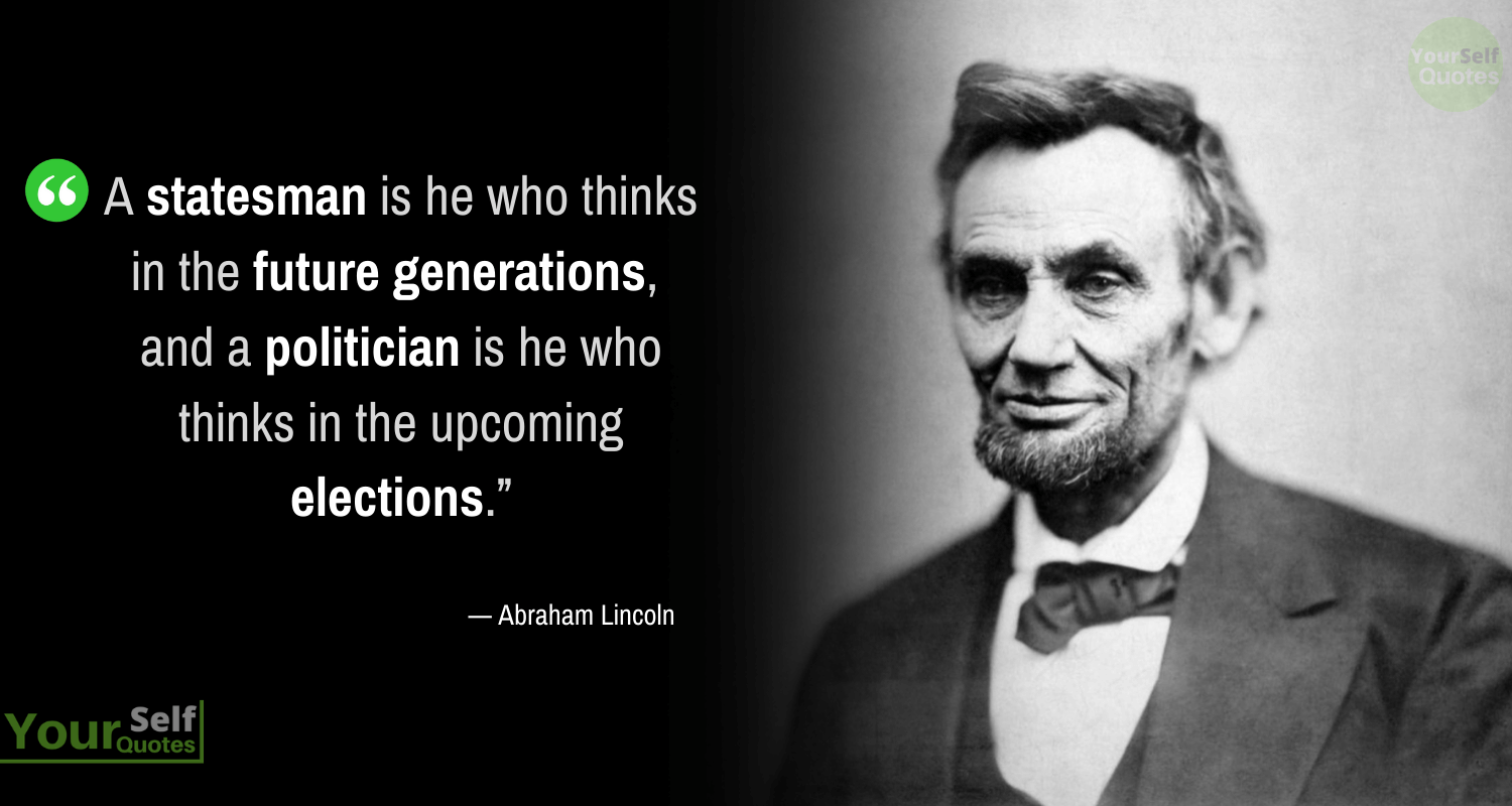 Elections Quotes by Abraham Lincoln