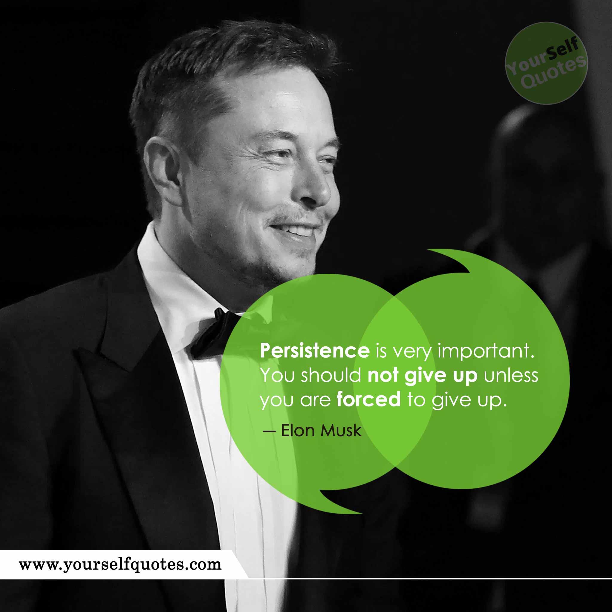 Elon Musk Best Quote