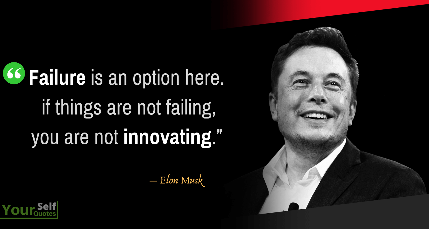 Elon Musk Failure Quotes Images