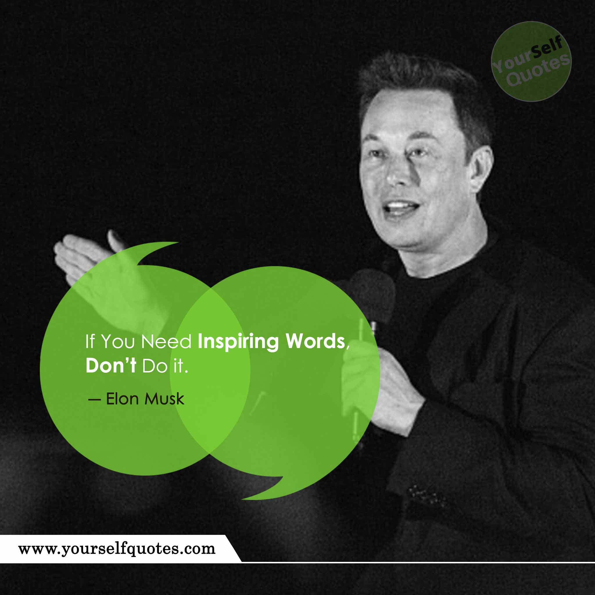 Elon Musk inspiring Words Quote
