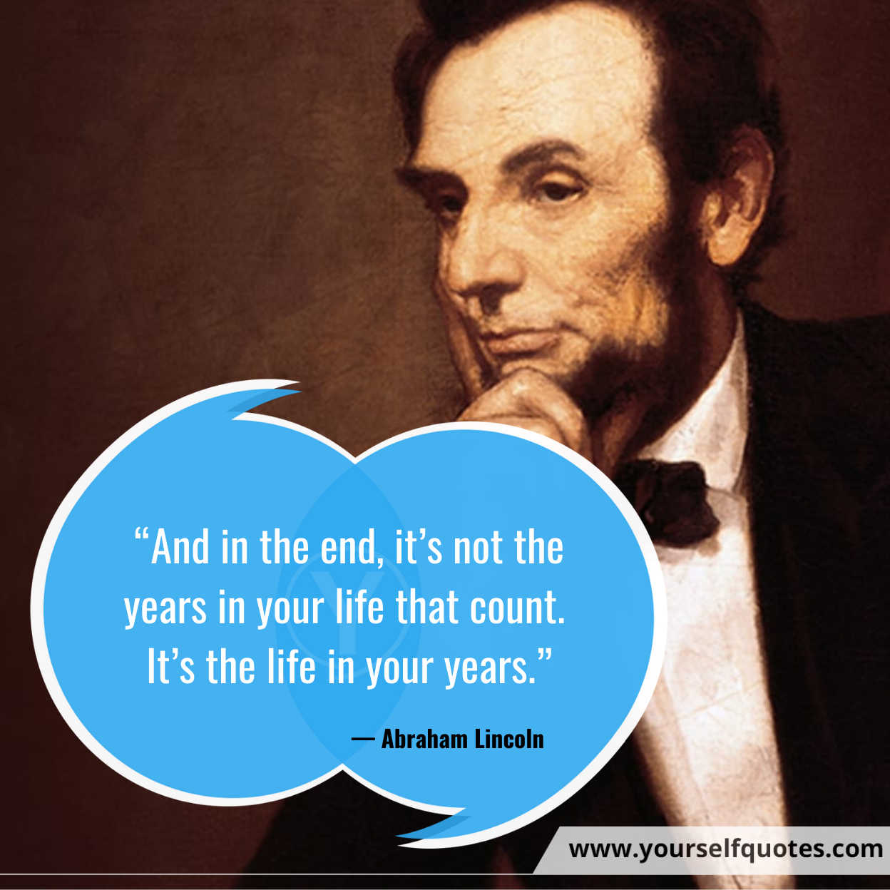 Enjoy Life Quotes by Abraham Lincoln