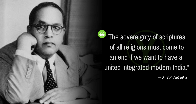 Kutipan terkenal oleh Dr. Babasaheb Ambedkar