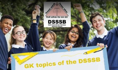 GK for DSSSB Exam
