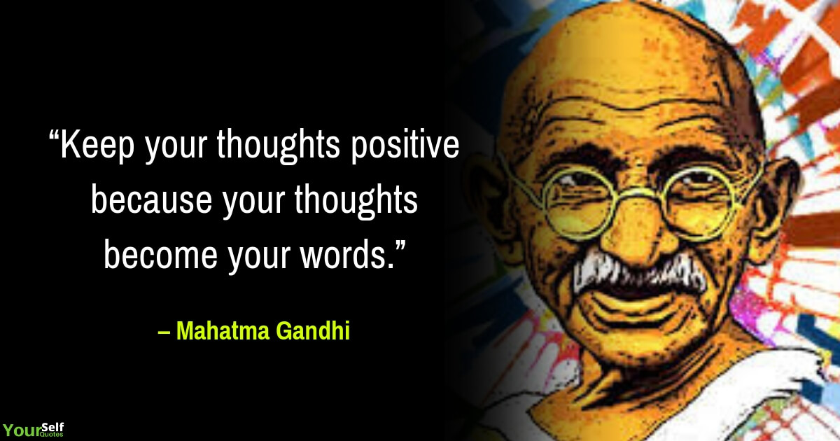 Gandhi Quotes Thoughts