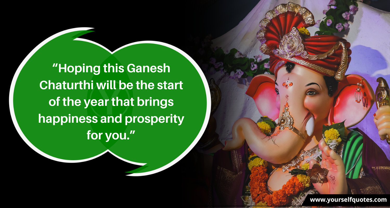 Ganesh Chaturthi Quotes in English