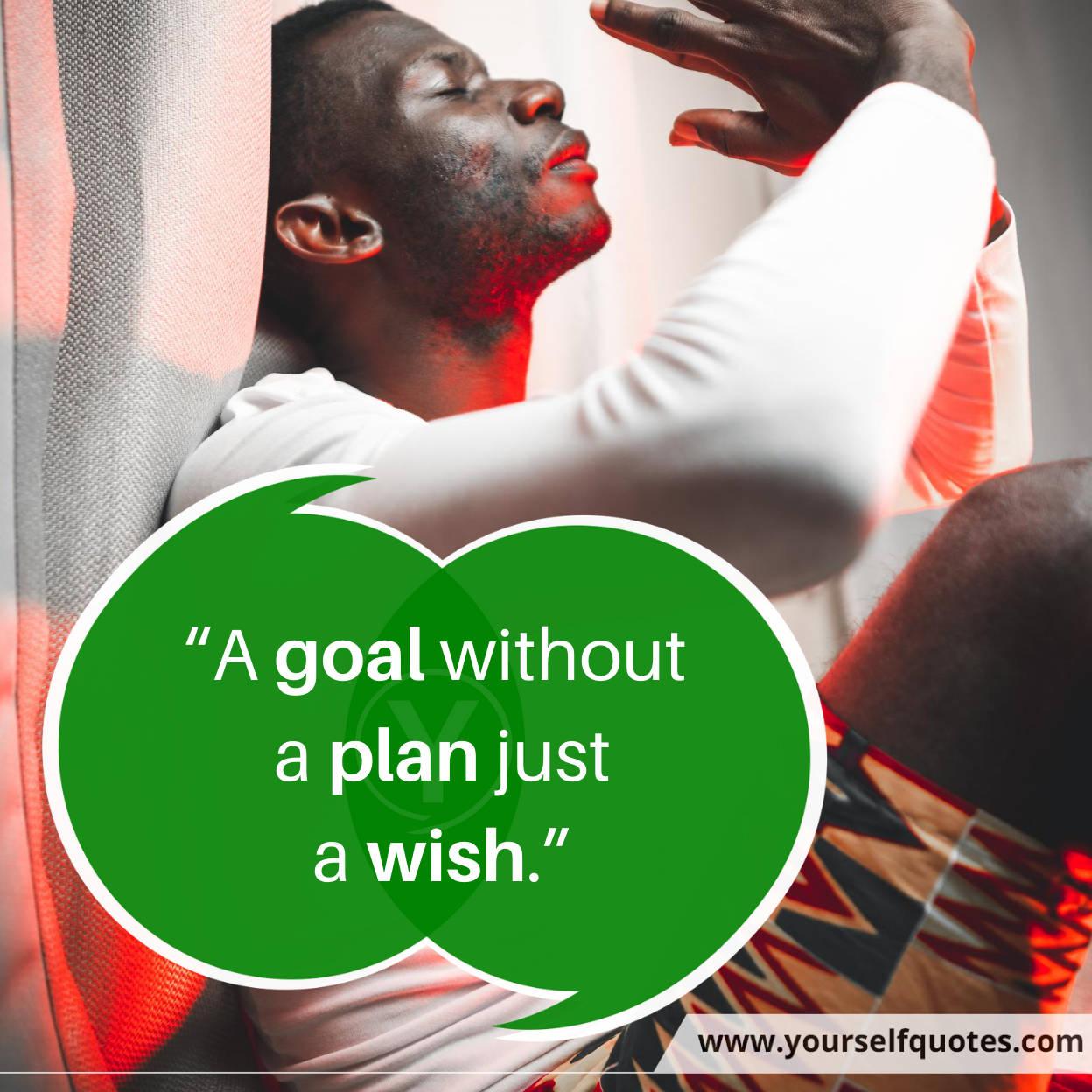 Goal Plan Monday Quotes