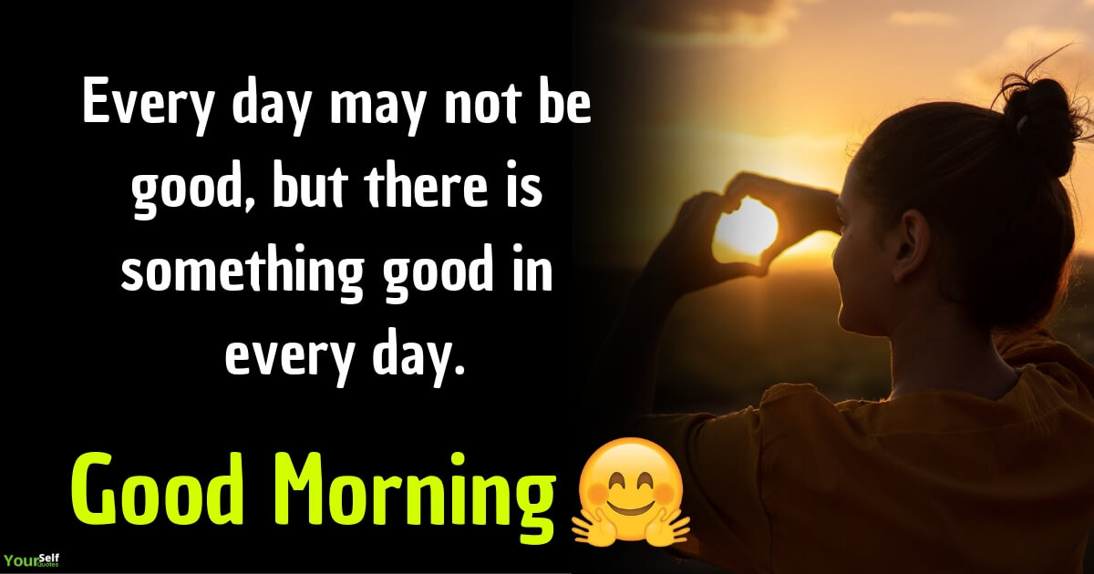 positive thought in the morning
