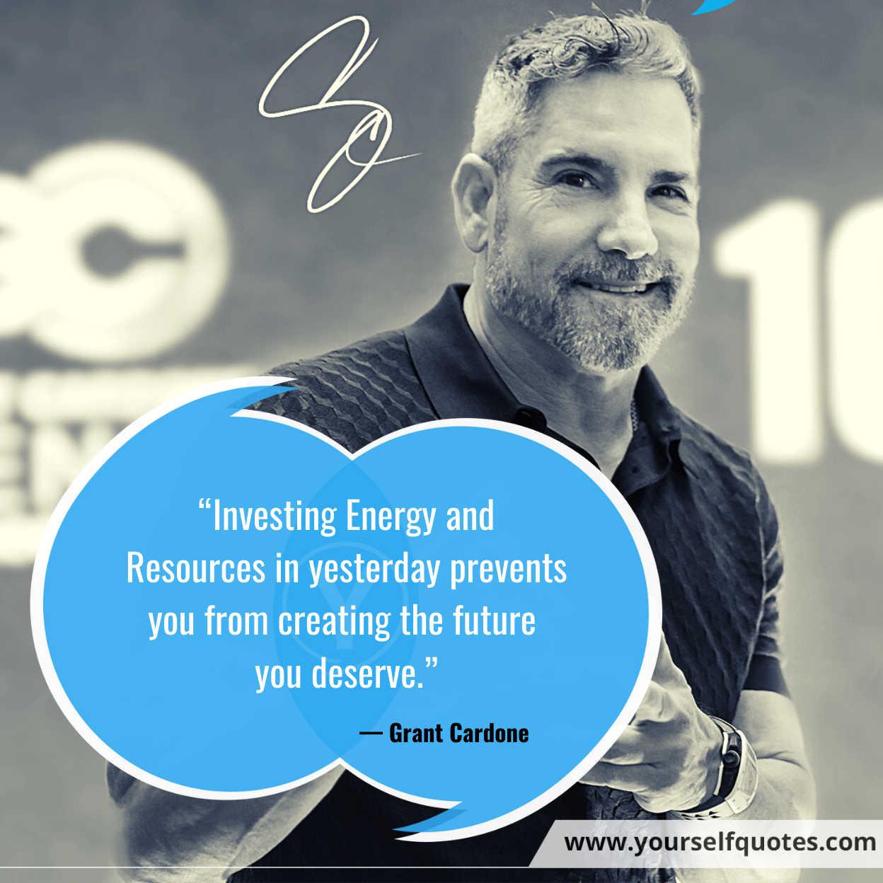 Grant Cardone Quotes