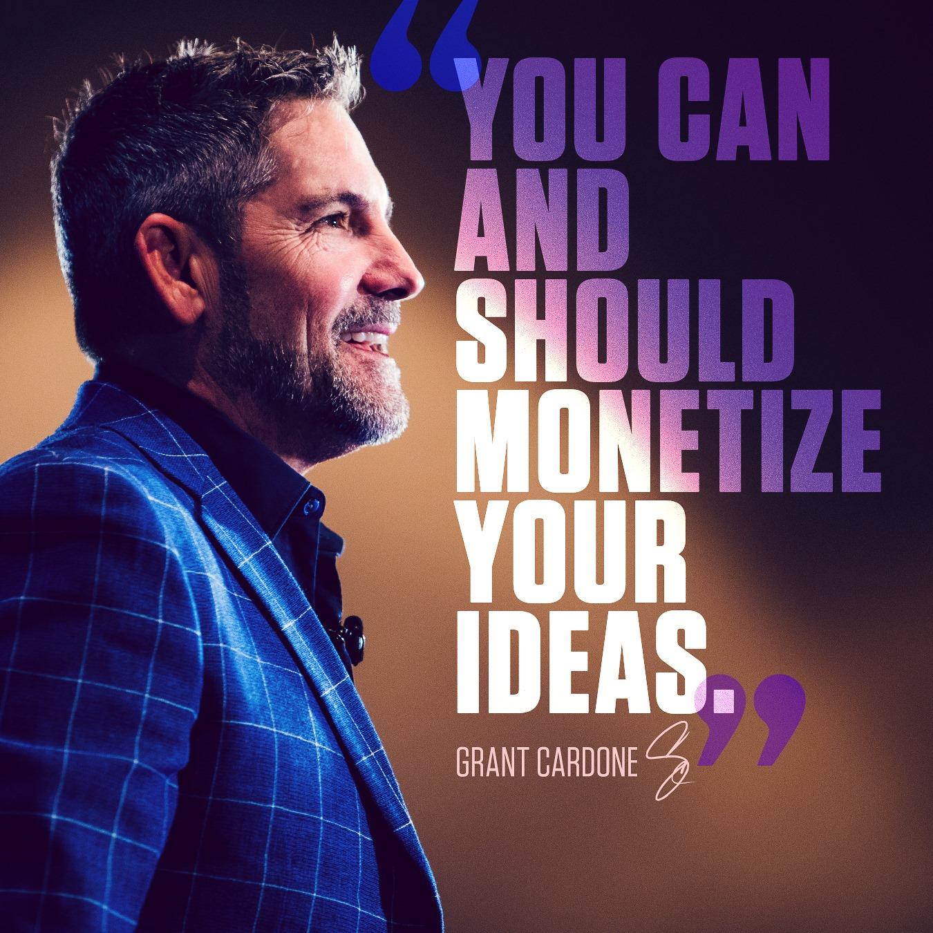 Grant Cardone Quotes Ideas