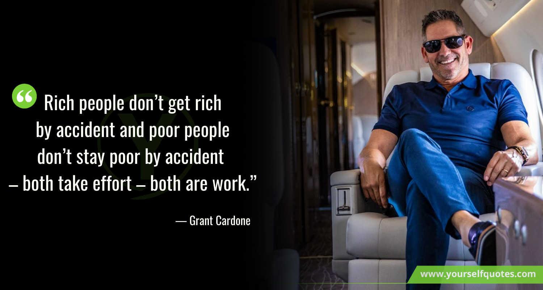 Berikan Cardone Quotes untuk bekerja