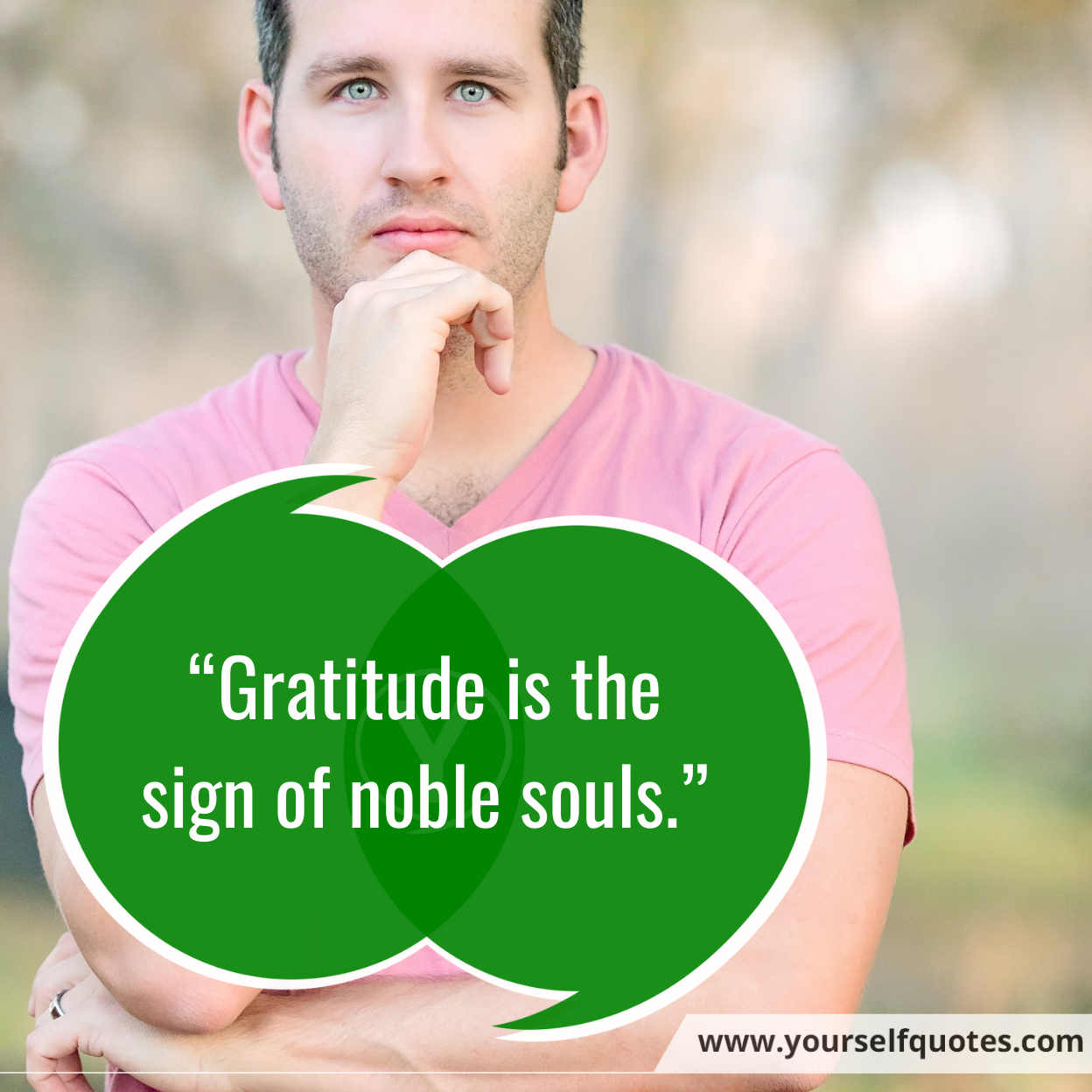 Gratitude Be Yourself Quotes