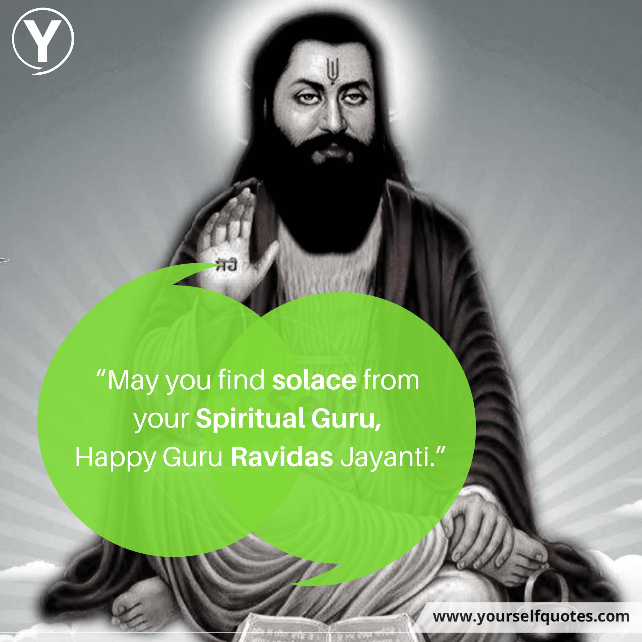 Guru Ravidas Jayanti Quotes