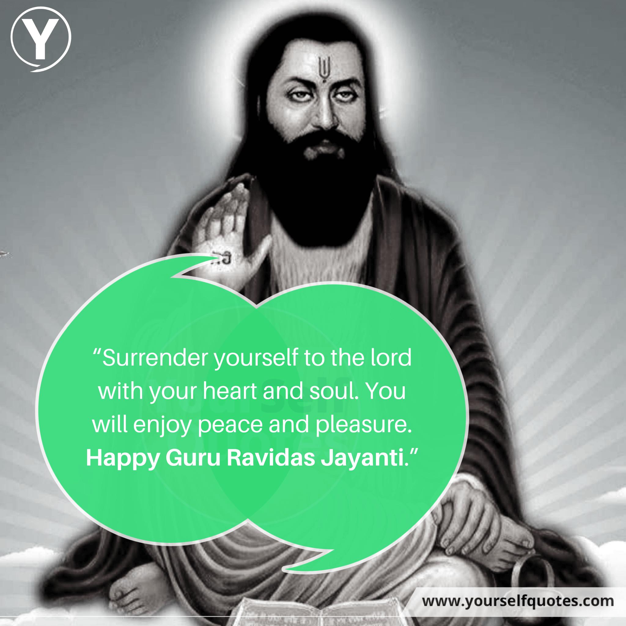 Guru Ravidas Jayanti Wishes