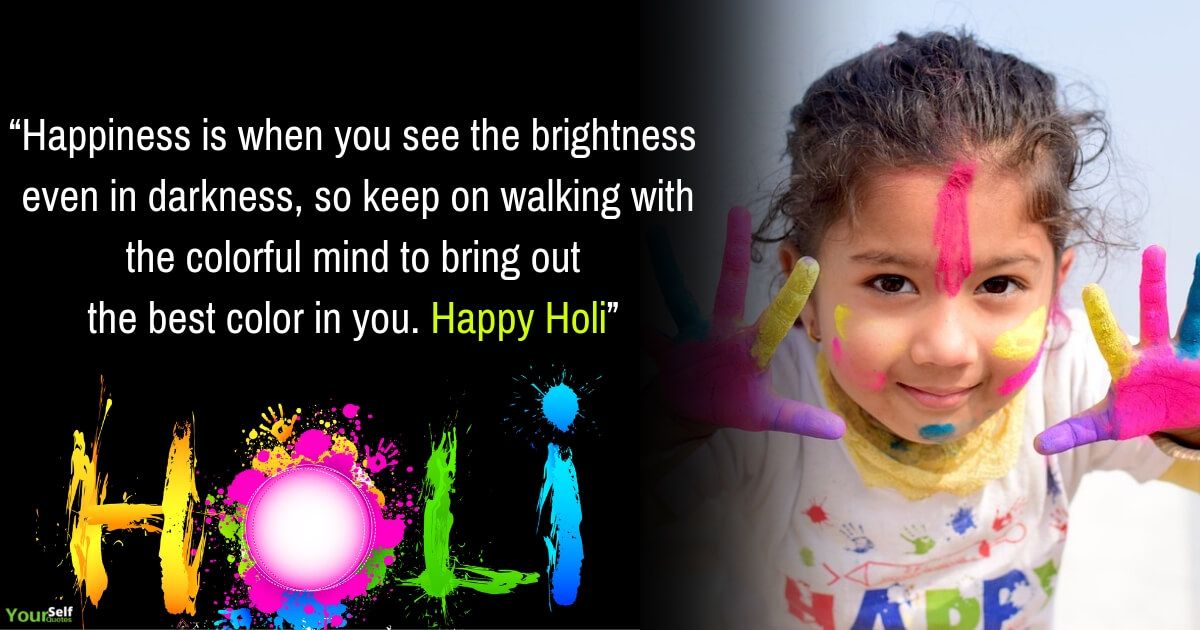 Happiness Holi Wishes