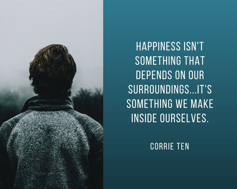 Happiness Quotes by Corrie Ten Boom