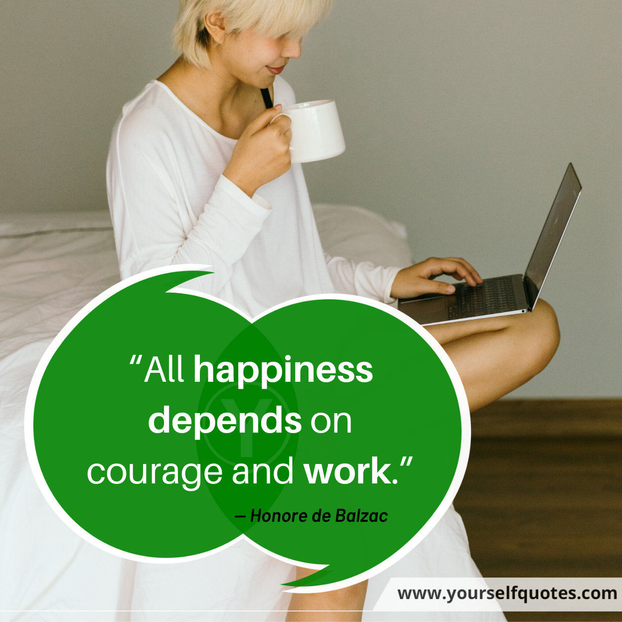 Happiness Quotes by Honore de Balzac