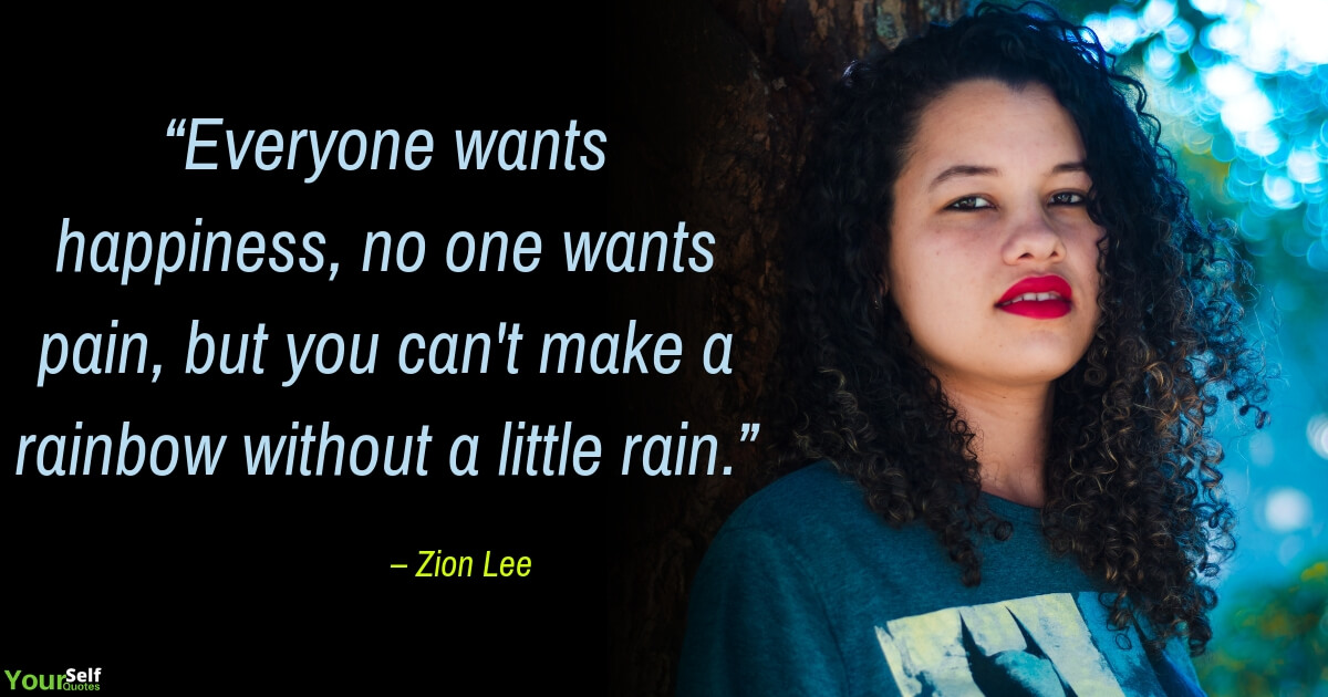 Happiness Quotes by Zion Lee