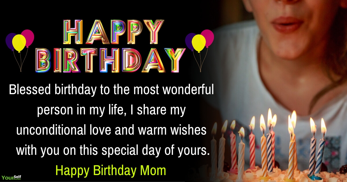 Happy Birthday Wishes Messages Mom