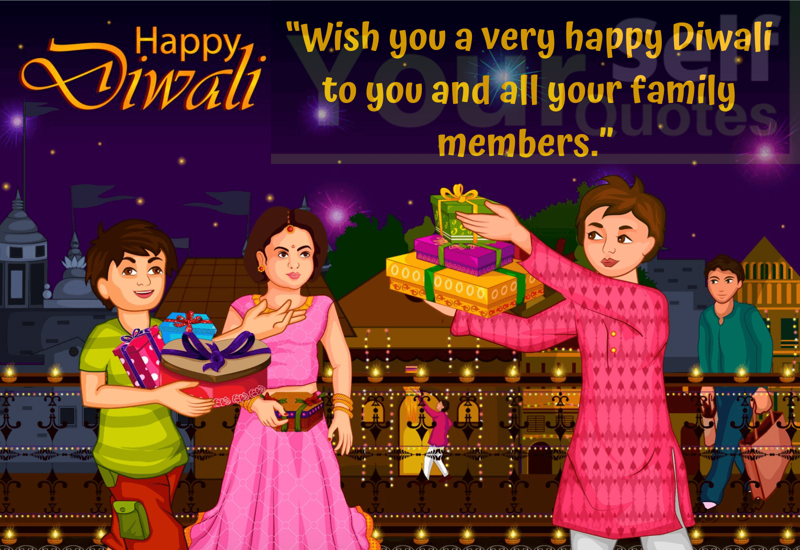 Happy Diwali Wishes Images For Family
