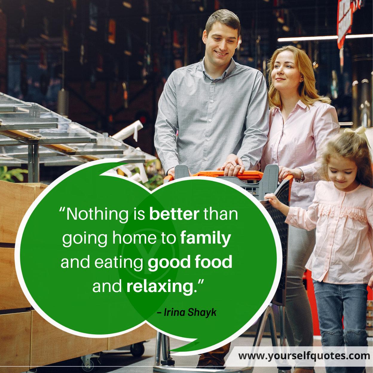 Happy Family Quotes by Irina Shayk