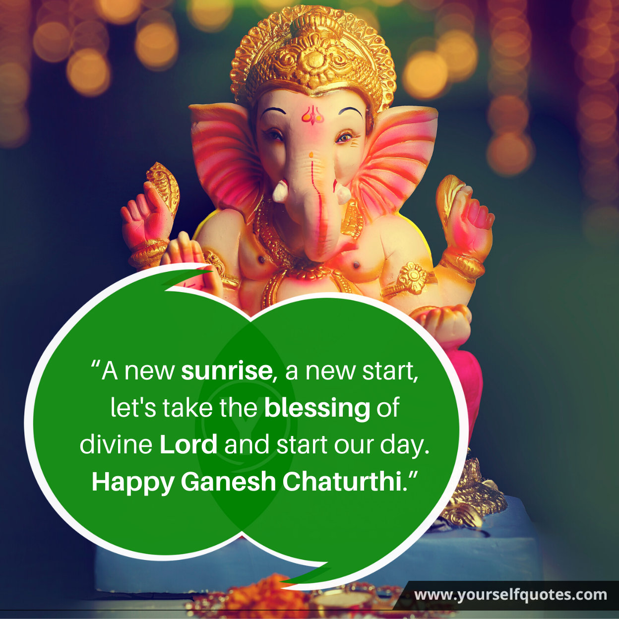 Happy Ganesh Chaturthi Quotes Images