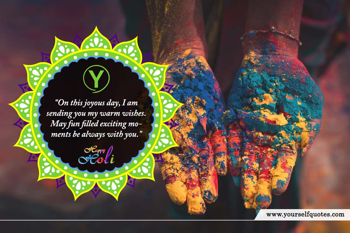 Wishes Happy Holi Photos
