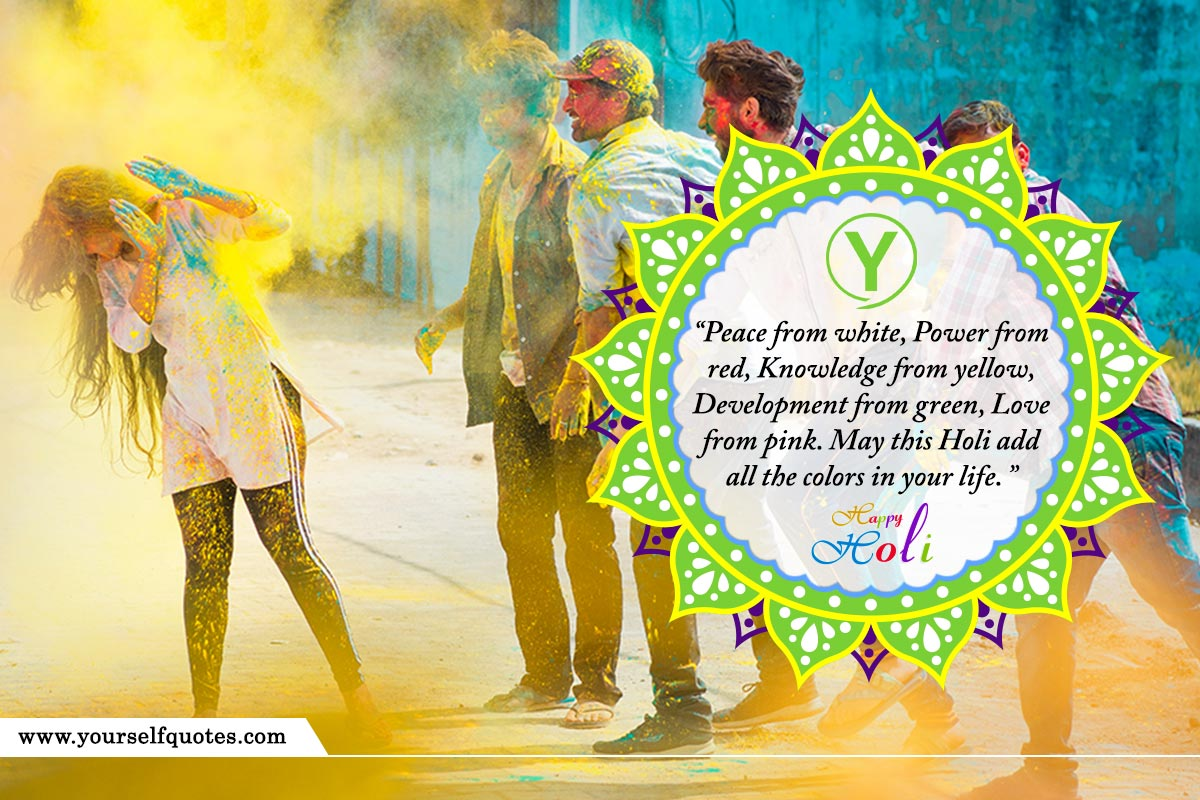 Good Happy Holi Wishes Images