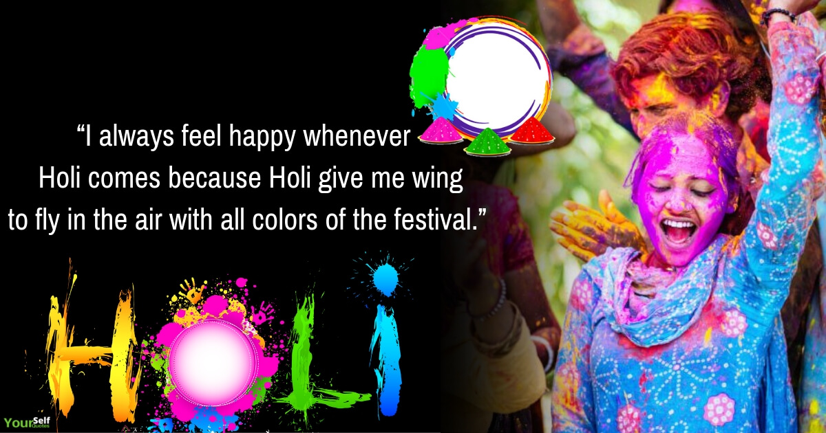 Happy Holi Wishes Potots