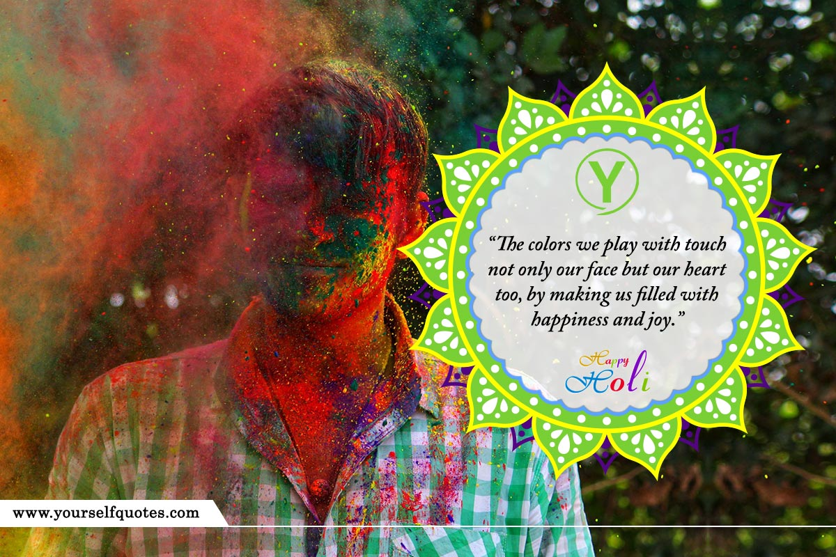 Happy Holi Wishes Status Quotes