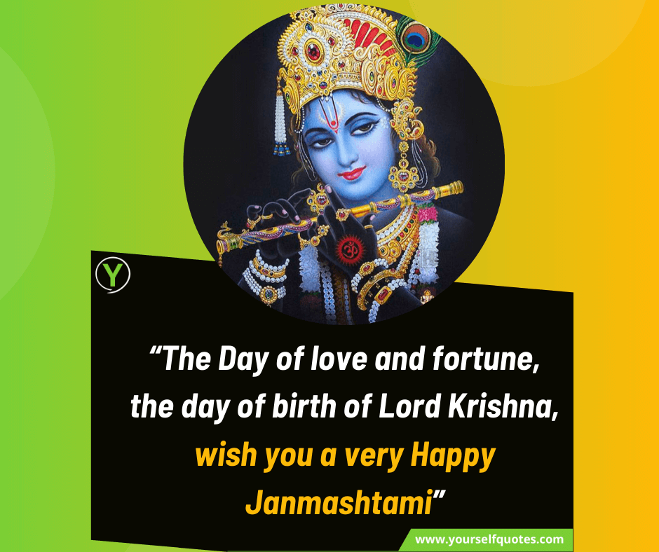 Happy Janmashtami Wishes Quotes