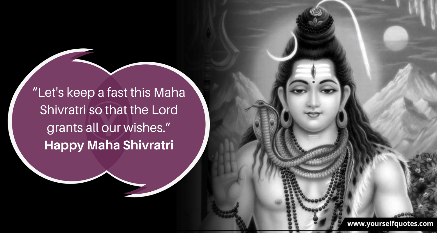 Happy Maha Shivratri Wishes Quotes