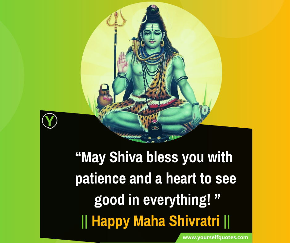 Happy Maha Shivratri Wishes Quotes Images