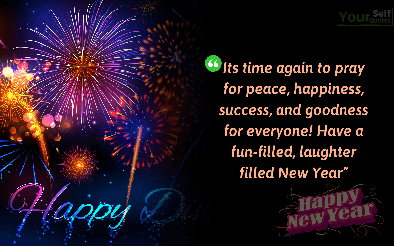 Happy New Year Greeting Cards Wallpaper