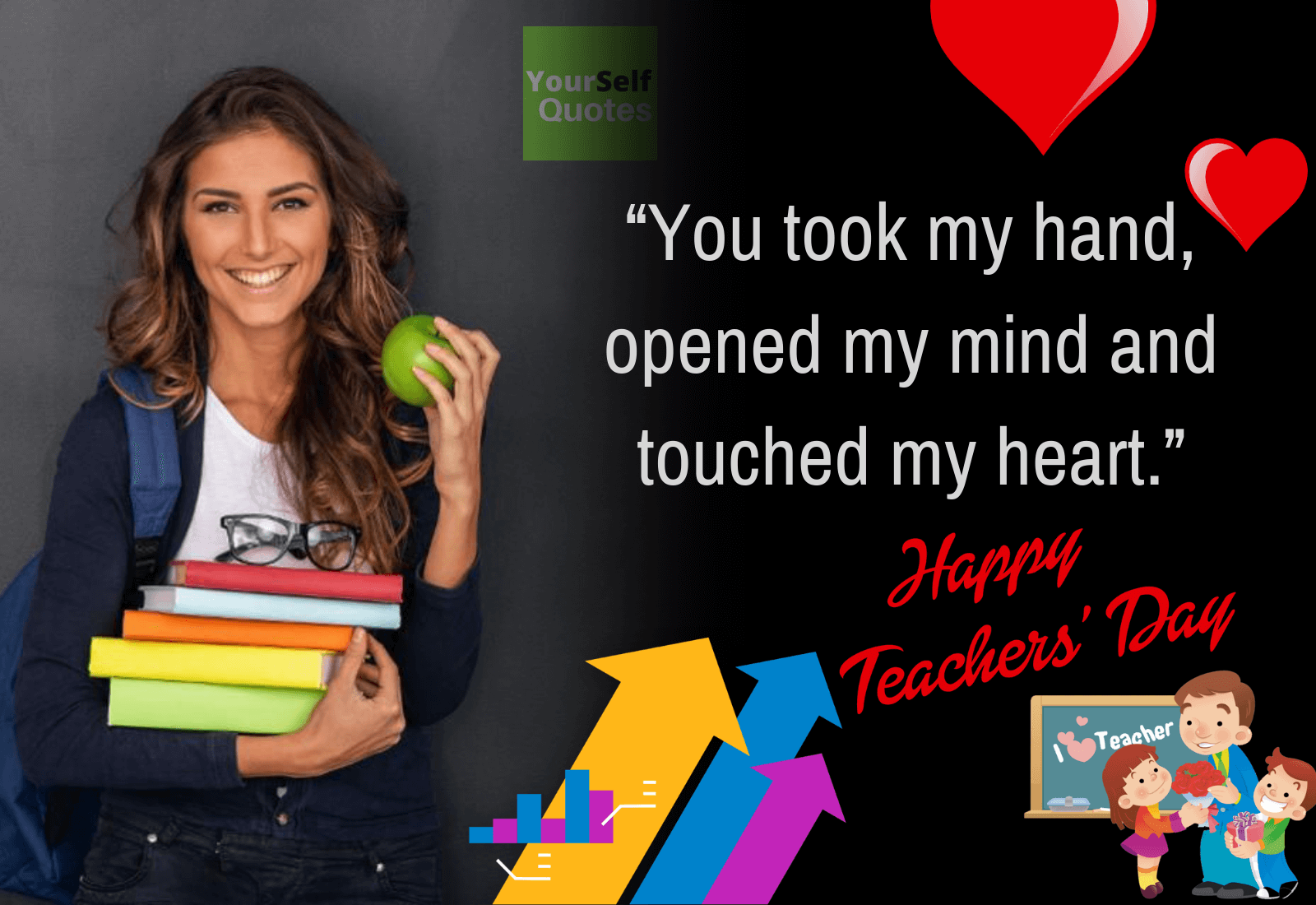 Happy Teacher Day Poster