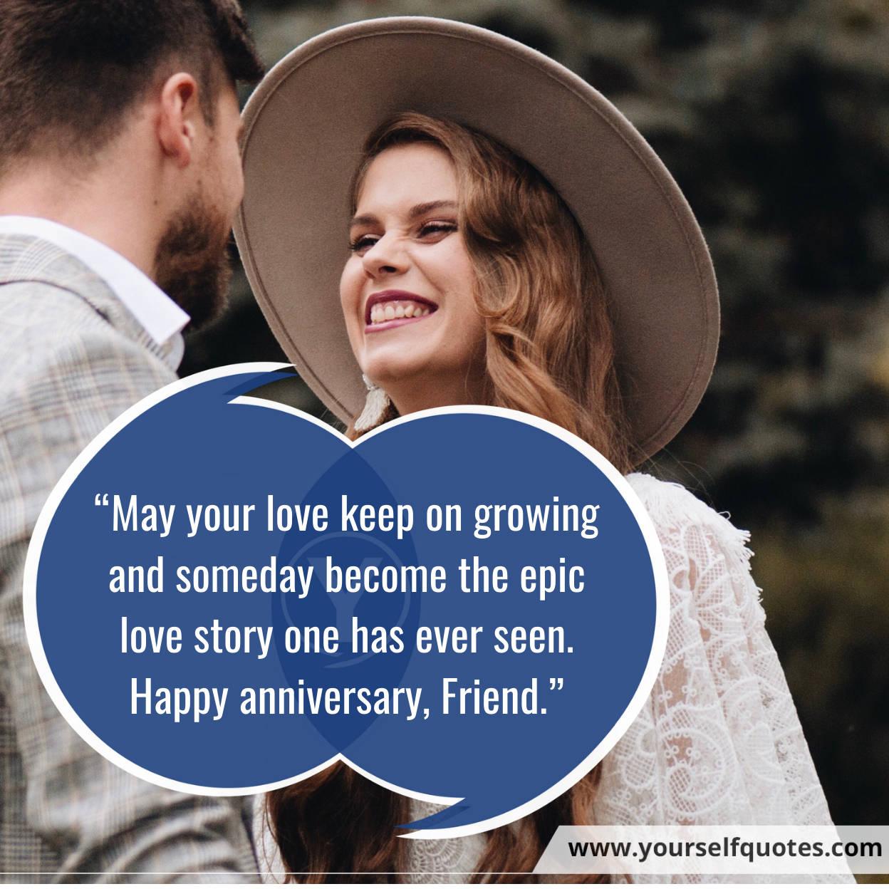 Selamat Ulang Tahun Pernikahan Temanku