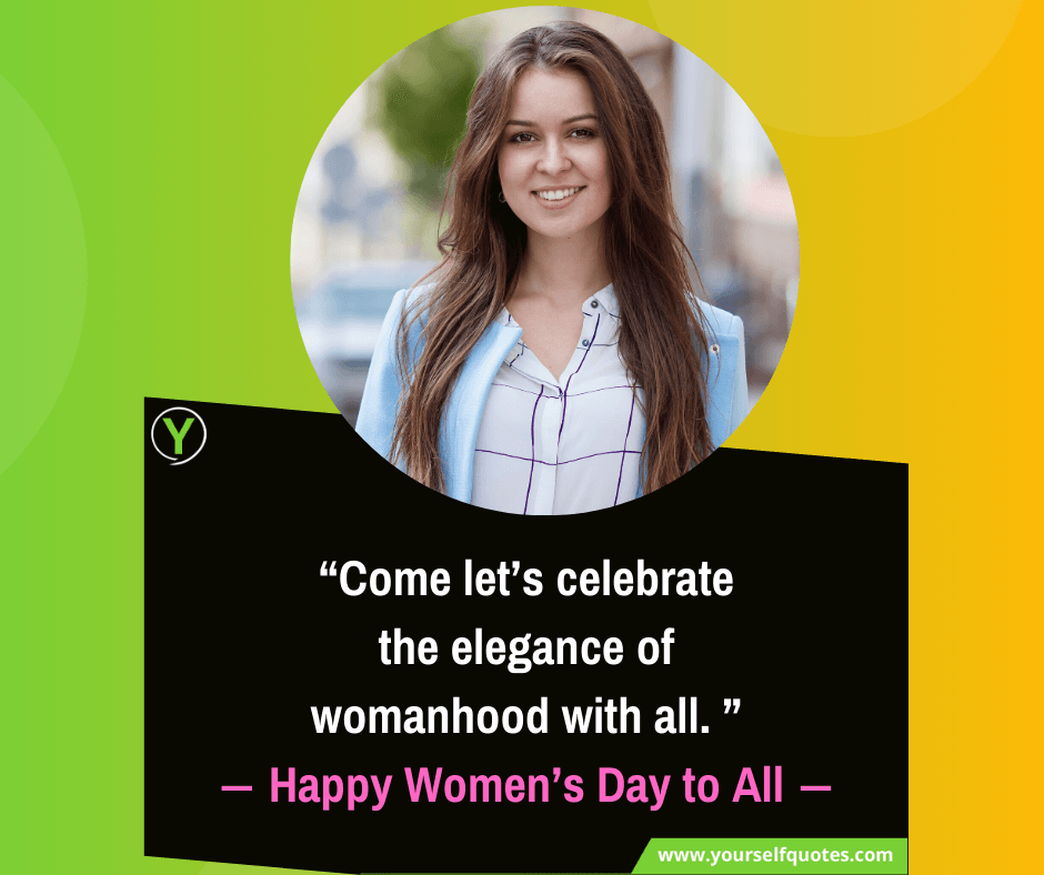 Happy Women's Day to All