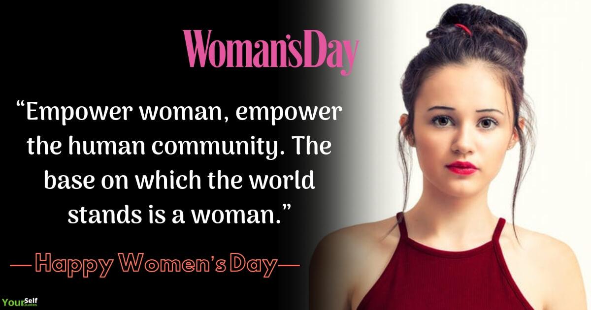 Selamat Hari Wanita Mengutip Gambar HD