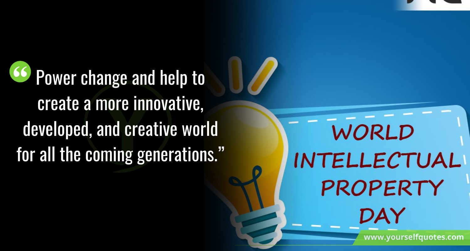 Happy World Intellectual Property Day Messages