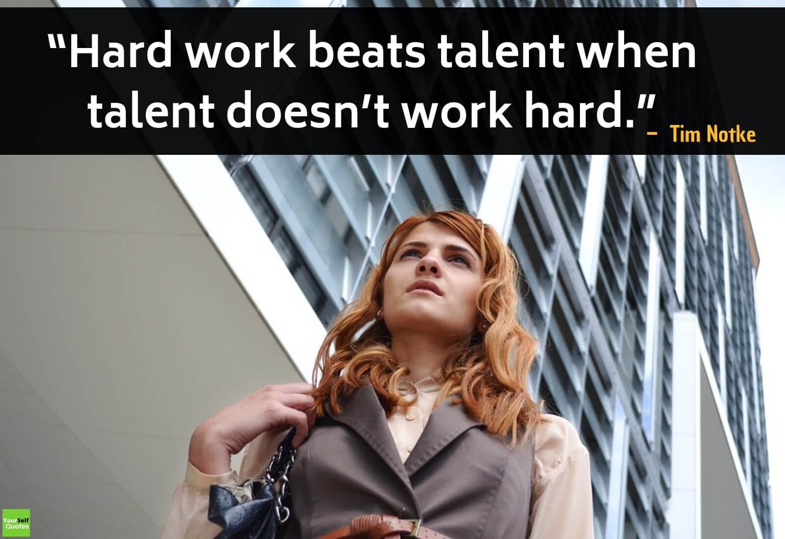 Hard work Quotes by Tim Notke