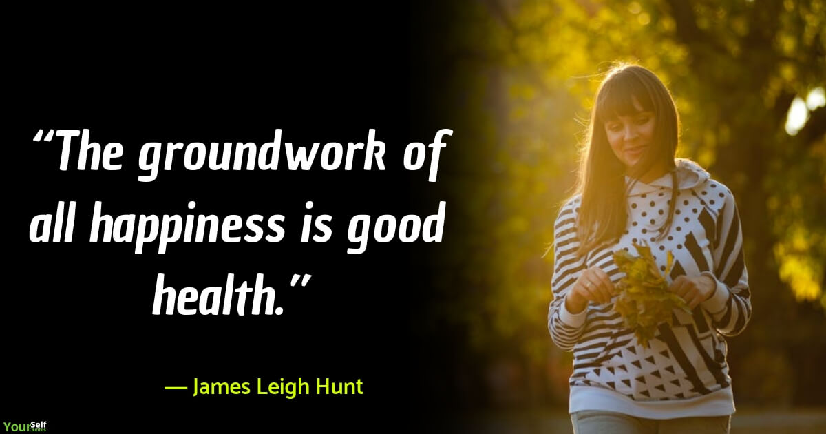 Health Quotes by James Leigh Hunt