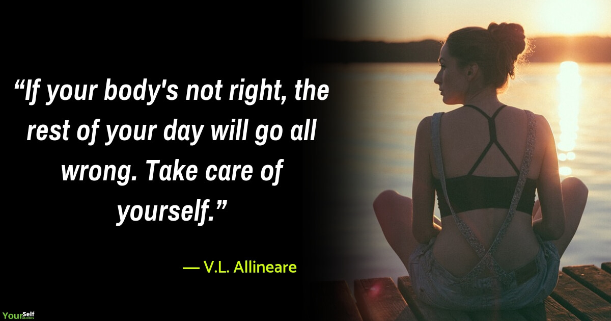 Health Quotes by V.L. Allineare