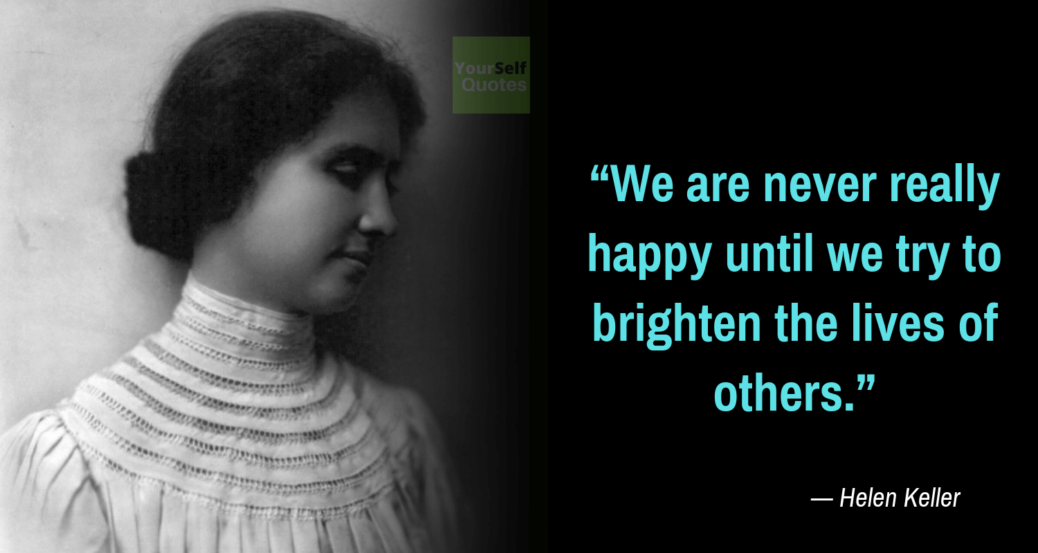 Helen Keller Quotations