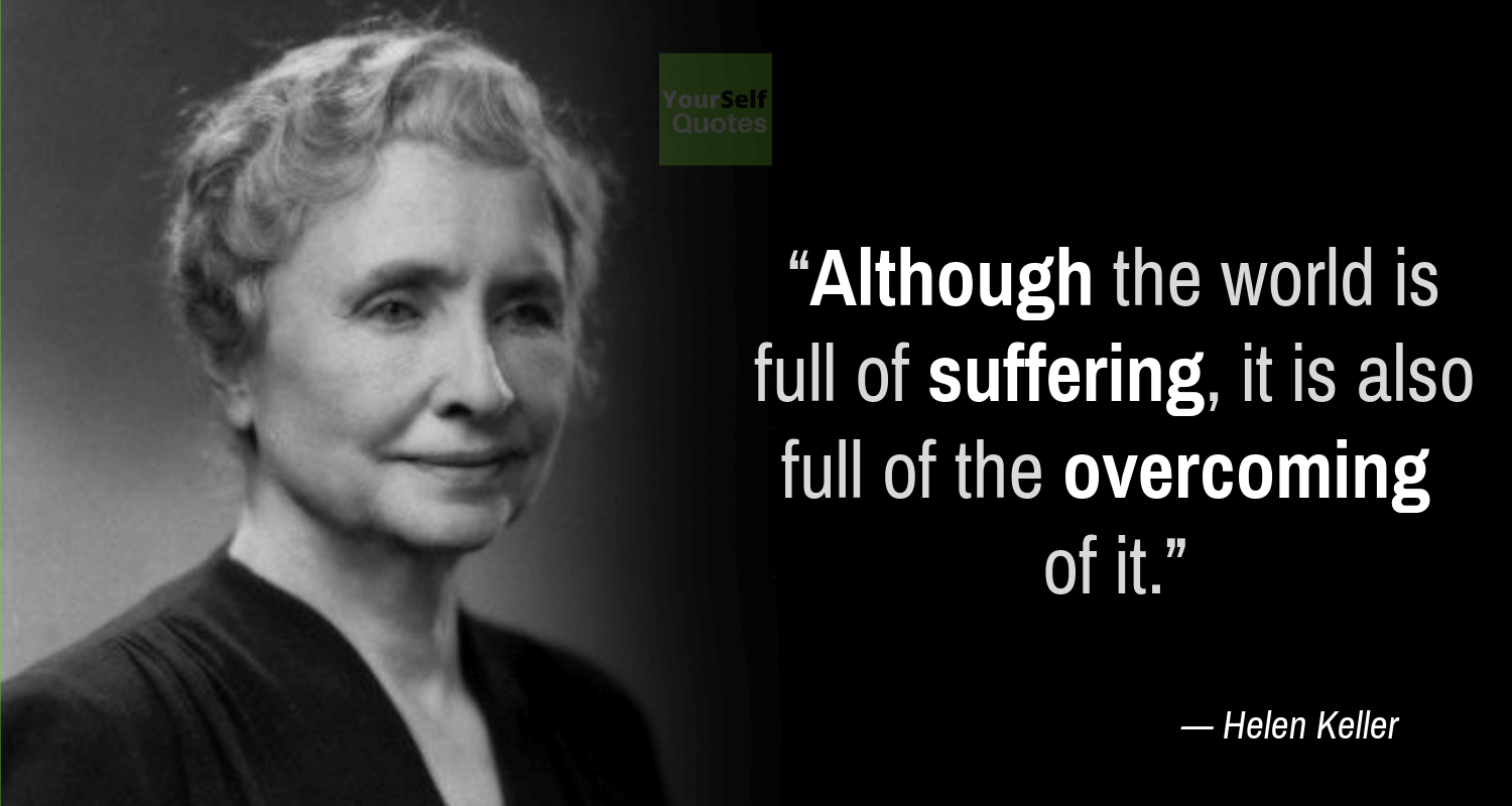Helen Keller Sayings