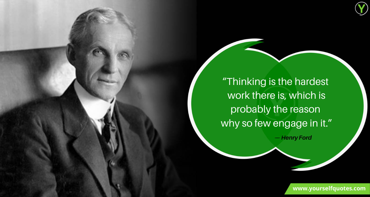 Henry Ford Leadership Quotes