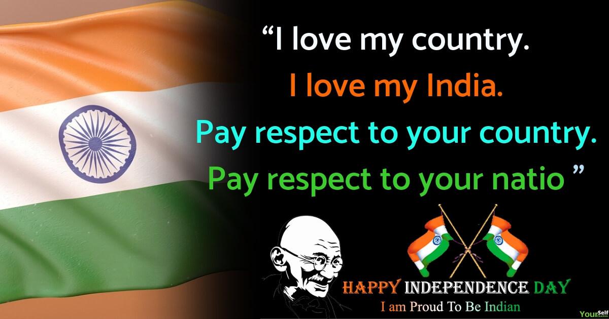 Independence day Wishes Whatsapp Status