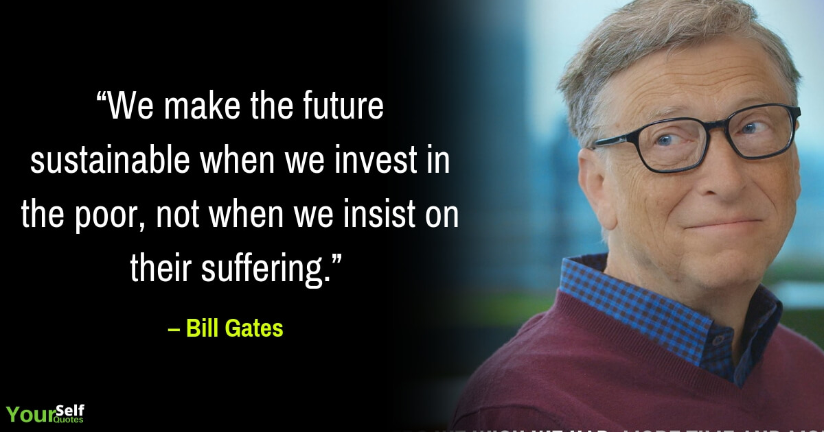 Inspirational Bill Gates Quotes