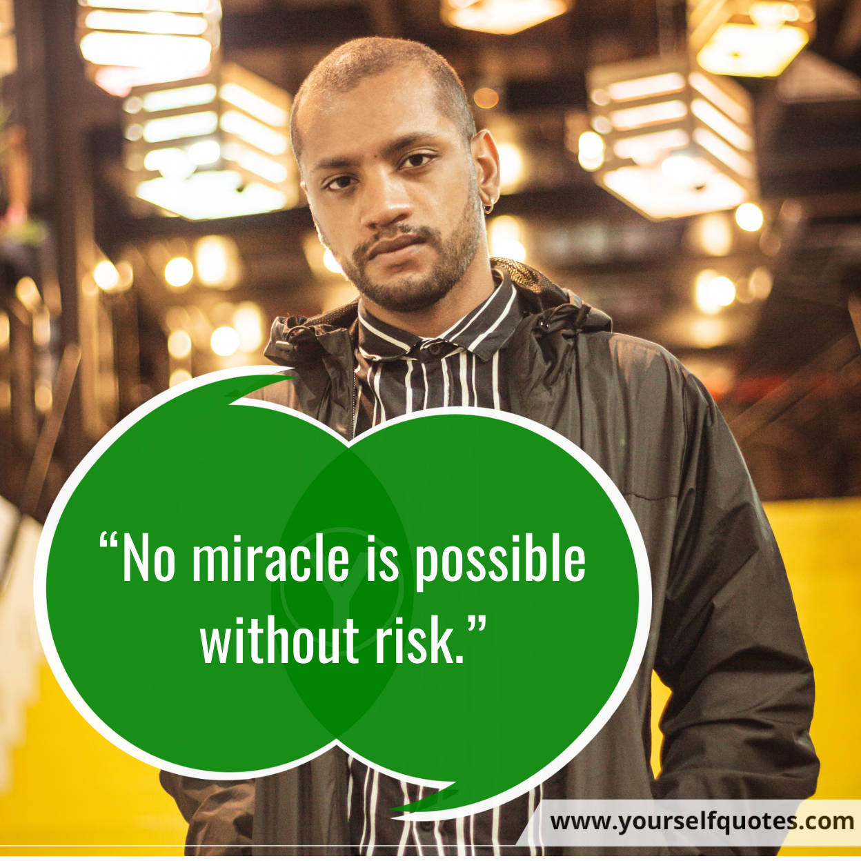 Inspirational Quotes On Risks Photos
